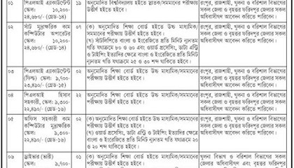 Photo of Government Job Circular 2019