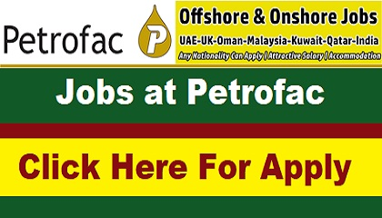 Photo of Latest Jobs at Petrofac