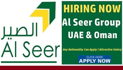 Photo of Job Vacancies at Al Seer Group