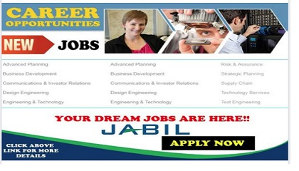 Photo of NEW JOB OPENINGS @ JABIL
