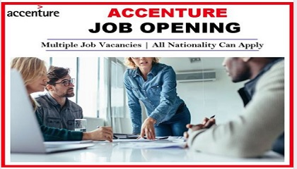 Photo of new job vacancies @ ACCENTURE