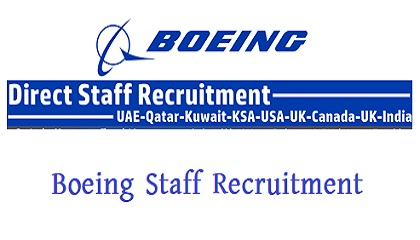 Photo of Boeing Staff Recruitment