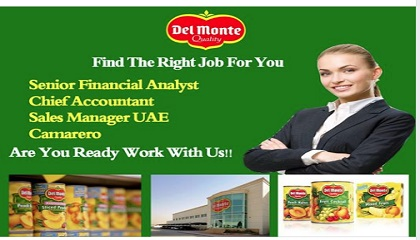 Photo of HIRING NOW! DELMONTE FOODS