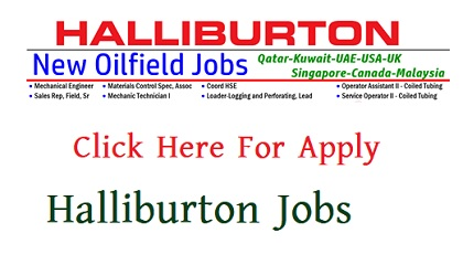 Photo of Halliburton Jobs Circular