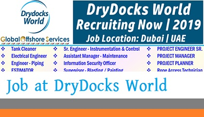Photo of Job Vacancies at DryDocks World