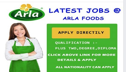 Photo of LATEST JOB VACANCIES IN ARLA FOODS – 2019