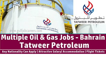 Photo of Job Openings at Tatweer Petroleum