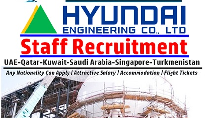 Photo of Latest Jobs at Hyundai Engineering and Construction