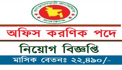 Photo of Office clerk Job Circular