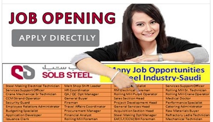 Photo of Staff Recruitment | SOLB STEEL