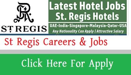 Photo of St Regis Careers & Jobs
