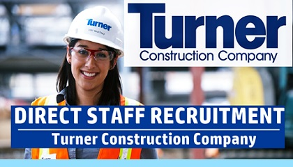 Photo of Turner Construction Careers – Worldwide