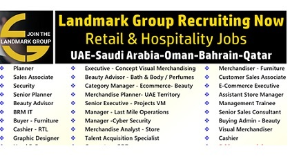 Photo of Various Job Vacancies at Landmark Group 2019 – UAE-KSA-Oman-Bahrain-Qatar