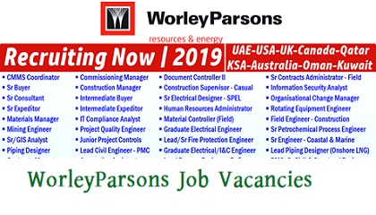 Photo of WorleyParsons Job Vacancies