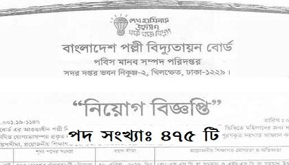 Photo of Bangladesh Rural Electrification Boardpublished a Job Circular