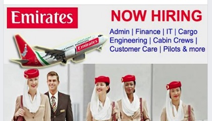 Photo of DIRECT STAFF RECRUITMENT – EMIRATES &DNATA GROUP