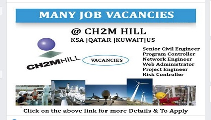 Photo of FREE STAFF RECRUITMENT @ CH2M HILL