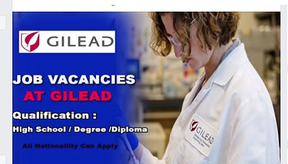 Photo of GILEAD SCIENCES, INC-JOB VACANCIES OPENINGS