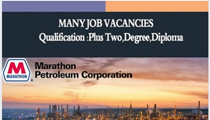Photo of JOB VACANCIES AT MPC -MARATHON PETROLEUM CORPORATION