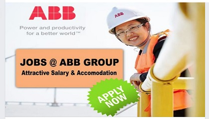 Photo of LATEST JOBS @ ABB GROUP