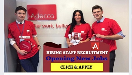 Photo of MANY JOB VACANCIES AT ADECCO