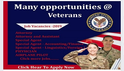 Photo of Many opportunities @ Veterans jobs