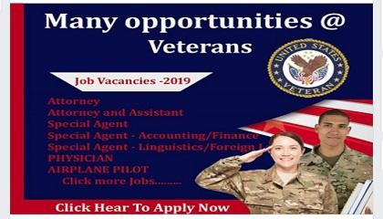 Photo of Many opportunities @ Veterans jobs