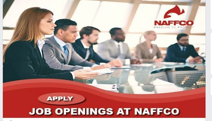 Photo of NAFFCO STAFF RECRUITMENTS
