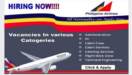 Photo of Philippine airlines careers -2019