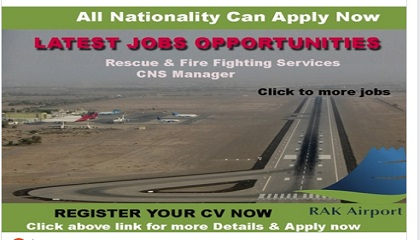 Photo of Latest Jobs @ Ras Al Khaimah International Airport