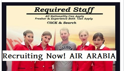 Photo of Recruiting Now! AIR ARABIA