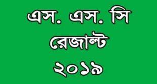 SSC Result 2019 Bangladesh Education Board Exam .
