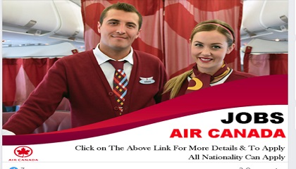 Photo of Staff Recruitment – Air Canada