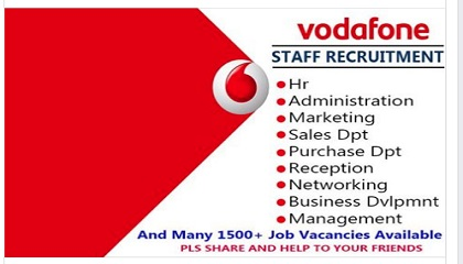 Photo of Staff Recruitment At Vodafone Staff Recruitment At Vodafone Staff Recruitment At Vodafone