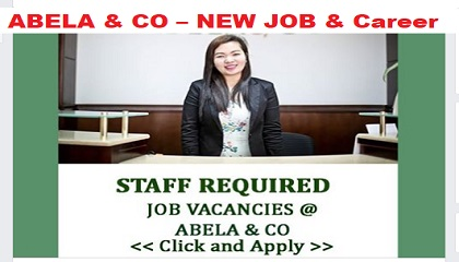 Photo of ABELA & CO – NEW JOB VACANCIES