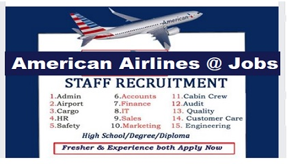 Photo of Staff Recruitment! AMERICAN AIRLINES