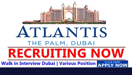 Photo of Atlantis The Palm Dubai Job Vacancies 2019