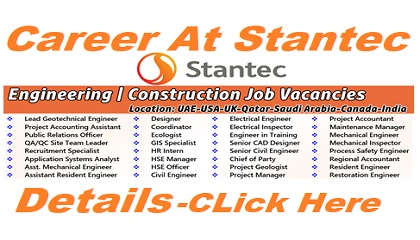 Photo of Career At Stantec | UAE-USA-UK-Qatar-Saudi Arabia-Canada-India
