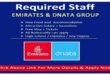 DIRECT STAFF RECRUITMENT – EMIRATES GROUP