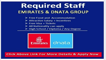 Photo of DIRECT STAFF RECRUITMENT – EMIRATES GROUP