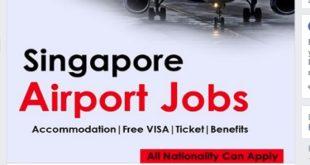 FREE STAFF RECRUITMENT AT SINGAPORE AIRPORT