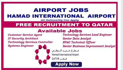 Photo of Hamad International Airport -JOBS – 2019