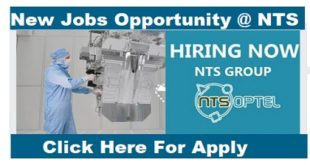 Hiring Now! NTS GROUP