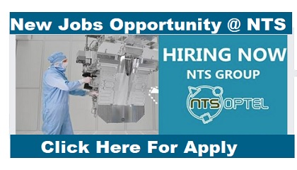 Photo of NEW JOB OPENING @ NTS GROUP NEW JOB OPENING @ NTS GROUP Hiring Now NTS GROUP
