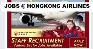 JOBS @ HONGKONG AIRLINES