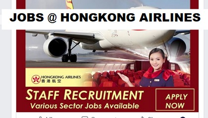Photo of JOBS @ HONGKONG AIRLINES