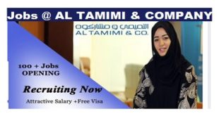 Jobs Recruitment @ AL TAMIMI & COMPANY