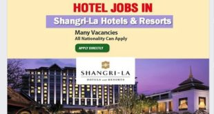 Jobs in Shangri-La Hotels & Resorts