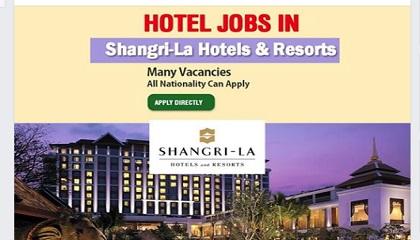 Photo of Job vacancies @ Shangri-La Hotels & Resorts