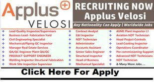 Latest Job Vacancies at Applus Velosi